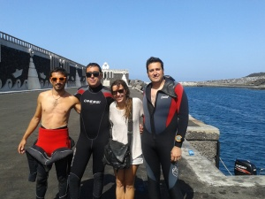 El Hierro diving